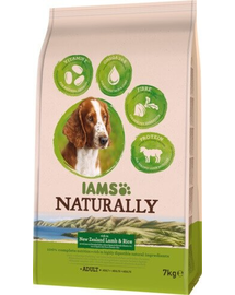 IAMS Naturally Adult Dog rich in New Zealand Lamb & Rice 7 kg
