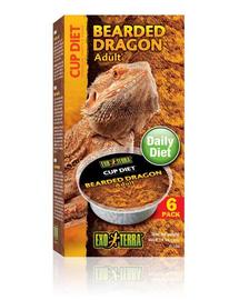 EXO TERRA Mâncare pentru dragon cu barbă adult 6x60 g