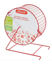 ZOLUX Roată metal 11 cm roșu