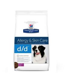 HILL'S Prescription Diet Canine d/d Duck & Rice 5 kg