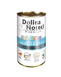 DOLINA NOTECI Premium Junior bogat în miel 400 g