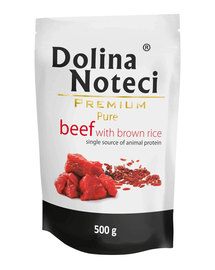 DOLINA NOTECI Premium Pure vită cu orez 500 g