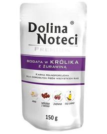 DOLINA NOTECI Premium bogat în iepure cu merișoare 150 g