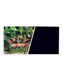 HAGEN Fundal cu două fețe pentru acvariu plante / negru 30x7.5cm