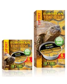 EXO TERRA Mâncare pentru țestoasă europeană adultă 6x60 g