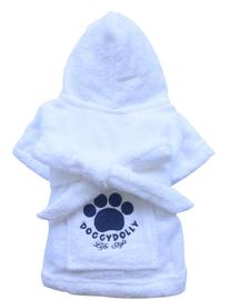DOGGY DOLLY Halat cu imprimeu, alb, S 54-56 cm/74-76 cm
