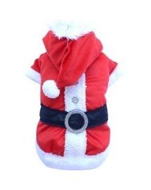 DOGGY DOLLY Costum Moș Crăciun XXS 13-15 cm/26-28 cm