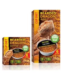 EXO TERRA Mâncare pentru dragon cu barbă pui 6x25 g