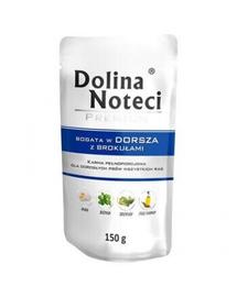 DOLINA NOTECI Premium bogat în cod cu broccoli 150 g