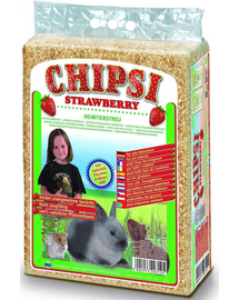 JRS Chipsi Strawberry rumeguș căpșuni 60 L
