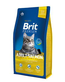 BRIT Premium Cat Salmon 8 kg