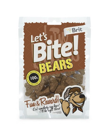 BRIT Care Lets Bite Dog Bears 150 g