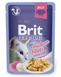 BRIT Premium Cat Fillets in Jelly pui 85 g