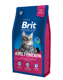 BRIT Premium Cat Adult pui 8 kg