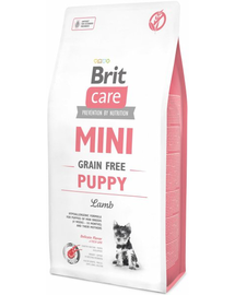 BRIT Care Grain Free Mini Puppy Lamb 2 kg