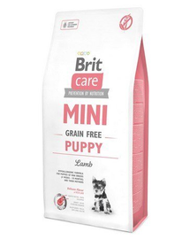 BRIT Care Mini Grain FreeMini Puppy Lamb 7 kg