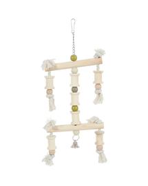 ZOLUX Jucărie din lemn pentru papagal Paco