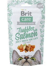 BRIT Care Cat Snack Truffles Somon 50g