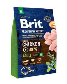 BRIT Premium By Nature Adult Extra Large XL 3 kg