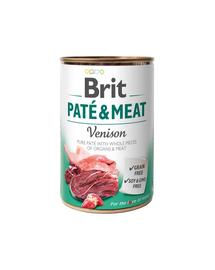 BRIT Pate & meat venison 400 g