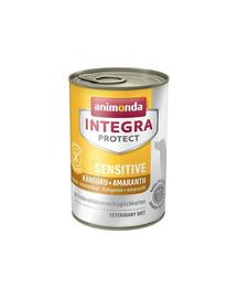 ANIMONDA Integra Sensitive Cangur și amarant 400 g