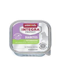 ANIMONDA Integra Protect pentru diabet cu inimi de curcan 100 g
