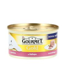 GOURMET Gold Mousse cu Vită 85 g