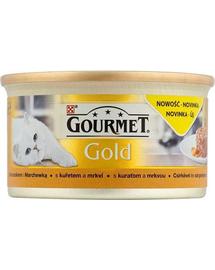 GOURMET Gold Savoury Cake Pui și Morcovi 85 g