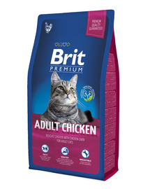 BRIT Premium Cat Adult pui 1,5 kg