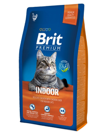 BRIT Premium Cat Indoor 1.5kg