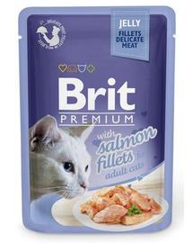 BRIT Premium Cat Fillets in Jelly somon 85 g
