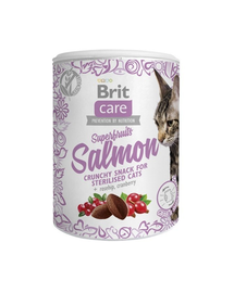 BRIT Care Cat Snack Superfruits Salmon 100 g