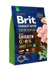 BRIT Premium By Nature Adult Extra Large XL 3 kg