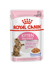 ROYAL CANIN Kitten Sterilised în Aspic 85g