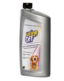 URINE OFF Câini - Soluție împotriva petelor și mirosurilor 946 ml