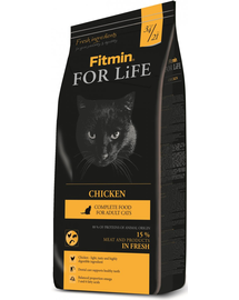 FITMIN Cat For Life cu Pui 8 kg