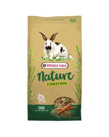 VERSELE-LAGA Cuni Nature Fibrefood - light & sensitive pentru iepuri și iepuri pitici  8 kg