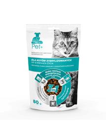 thePet+ Cat Sterilised recompense pentru pisici 80 g