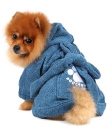 DOGGY DOLLY Halat cu imprimeu, albastru, M 59-61 cm/81-83 cm