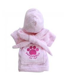 DOGGY DOLLY Halat cu imprimeu, roz, XXL 68-69 cm/104-106 cm