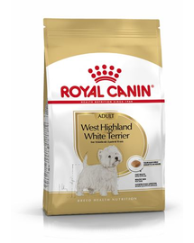 Royal Canin West Highland Terrier Adult hrana uscata caine Westie, 1.5 g