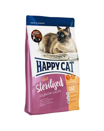 HAPPY CAT Supreme Sterilised cu Somon 4 kg