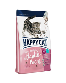 HAPPY CAT Supreme Junior Sterilised cu Somon 4 kg