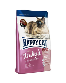 HAPPY CAT Supreme Sterilised cu Vită 1,4 kg