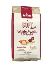 BOSCH Maxi Carne de Bivol și Cartofi Dulci 1 kg
