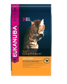 EUKANUBA Cat Adult All Breeds Top Condition Chicken & Liver 0.4 kg