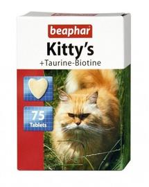 BEAPHAR Kitty's Tablete cu Taurină și Biotină 75 comprimate