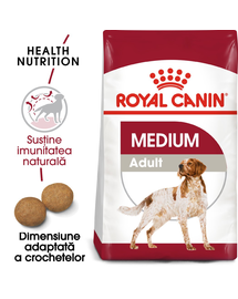 Royal Canin Medium Adult hrana uscata caine, 15 kg