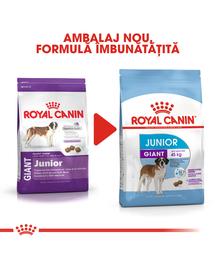 Royal Canin Giant Junior Hrană Uscată Câine 15 kg + 3 kg gratis!