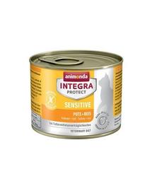 ANIMONDA Integra Sensitive Curcan și Orez 200 g
